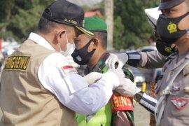 Wabup Pringsewu pimpin apel gelar pasukan Operasi Ketupat Krakatau 2021