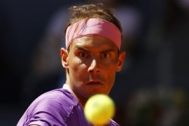 Nadal ke perempat final Madrid Open untuk ke-15 kalinya
