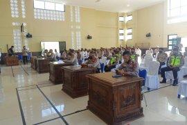 Polres OKU Sumsel terjunkan 144 personel pengamanan Idul Fitri