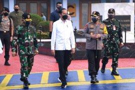 Presiden Joko Widodo kunjungan kerja ke Jawa Timur