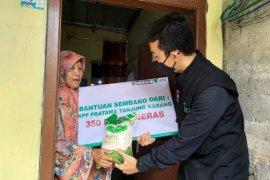 Dompet Dhuafa dan KPP Pratama Tanjung Karang distribusikan ratusan paket beras