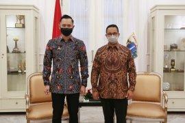 AHY bantah pertemuan dengan Anies Baswedan bahas Pilpres 2024