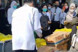 Wawako Palembang pimpin pemusnahan produk pangan mengandung formalin