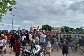 Pertandingan sepakbola di Sorong dibubarkan karena picu kerumunan