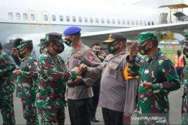 Panglima TNI dan Kapolri kunjungi Timika Jumat siang