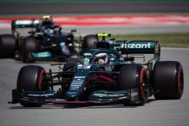 Incar penampilan kedua, Vettel nikmati progres mobil Aston Martin di Catalunya