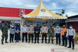 Wadan Sat Brimob Polda Sultra cek kesiapan pengamanan Operasi Ketupat Anoa