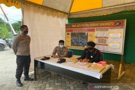 Kapolda Sulawesi Tenggara bersama Danrem Haluoleo memantau malam takbiran