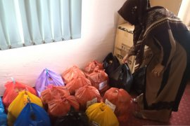 PKK Kota Solok bagikan 200 paket lebaran ke masyarakat kurang mampu