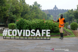 Taman Wisata Candi Borobudur, Prambanan, Ratu Boko beri akses masuk wisatawan penuhi syarat wisata sehat