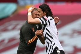 Man United bangkit untuk raih kemenangan 3-1 atas  Aston Villa