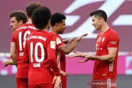Bayern melengkapi pesta juara dengan kemenangan 6-0 atas Gladbach