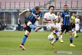 Inter Milan lanjutkan tren nirkalah saat gulung Sampdoria 5-1