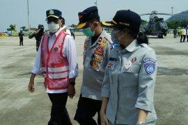 Jasa Raharja Lampung kunjungi pos penyekatan Lebaran
