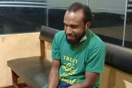 Viktor Yeimo DPO kerusuhan Papua 2019 ditangkap Satgas Nemangkawi