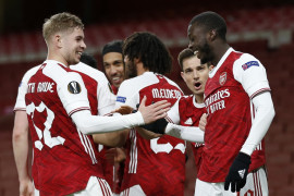 Arsenal tendang West Bromwich degradasi dari Liga Premier