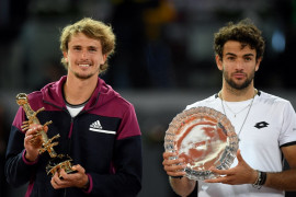 Madrid Open,  Zverev juara