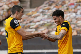 Gol menit terakhir antarkan Wolves kalahkan 10 pemain Brighton