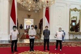 Mantan aktivis \'98 temui Presiden Jokowi di Istana Negara