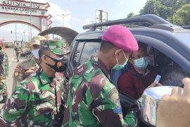 Satgas COVID-19 putar balik 320 kendaraan hendak masuk Kota Bandarlampung