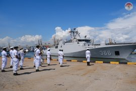 Setelah jalankan misi damai, KRI Sultan Hasanuddin-366 singgah di Kolombo