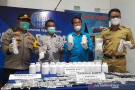BNN Temanggung ungkap peredaran 42.490 butir obat terlarang