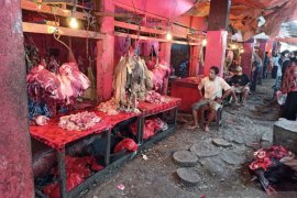 Harga daging sapi  naik jelang Lebaran di Palu