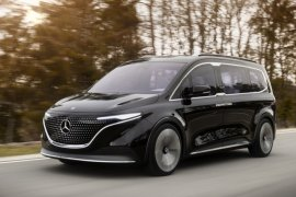 Mercedes-Benz pamerkan van listrik untuk keluarga