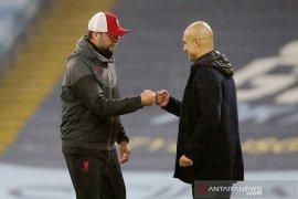Juergen Klopp sudah selamati langsung Pep dan Gundogan atas gelar juara City