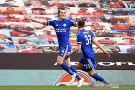 Leicester  pecundangi MU, City resmi juara Liga Premier