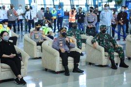 Kapolri minta prokes terkait COCID-19 di Bandara Soetta diperketat