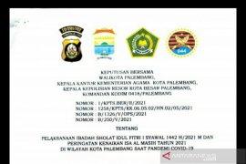 Pemkot Palembang akhirnya memutuskan larang Shalat Id di masjid secara menyeluruh