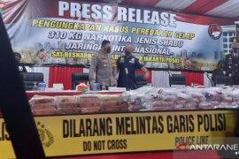 Polisi gagalkan peredaran sabu internasional seberat 310 kg