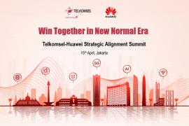 Telkomsel dan Huawei memperkuat kerja sama teknologi