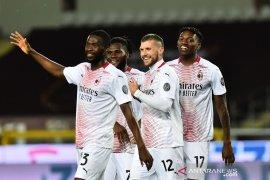 Milan perkuat peluang empat besar setelah gulung Torino 7-0,
