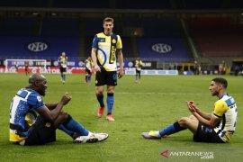 Inter Milan habisi asa Europa Roma, Juve terus jaga peluang empat besar