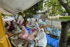 Mengharukan Shalat Id Tenda At Tabayyun, pertama kali dalam sejarah 30 tahun