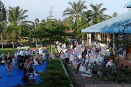 Pengurus masjid dan musala di Agam laksanakan shalat Id dengan protokol kesehatan ketat