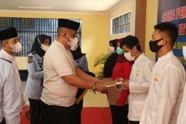 506 warga binaan Lapas Padang terima remisi Lebaran, tak ada yang langsung bebas