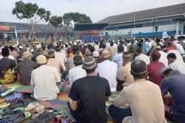 Puluhan narapidana di Sumsel terima remisi langsung bebas