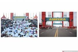 Pusat Kota Palembang tanpa Shalat Idul Fitri