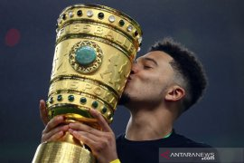 Jadon Sancho sesali gagal trigol pada final DFB Pokal