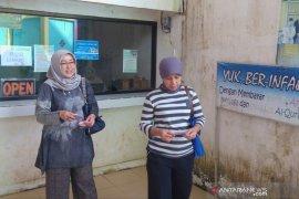 Pengunjung objek wisata religi Al Quran Akbar di Palembang meningkat saat Lebaran