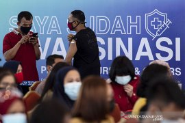 13,7 juta orang sudah dapat suntikan vaksin COVID-19