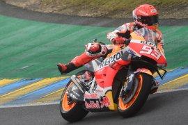 Marquez kuasai trek basah  Le Mans di FP3