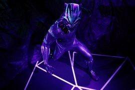 Black Panther hadir di pembukaan kembali Museum  Madame Tussauds
