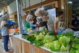 Aktifitas pasar tradisional Pekanbaru belum normal usai lebaran