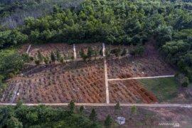 Pemakaman khusus COVID-19 di TPU Gandus Palembang baru terisi 15 persen