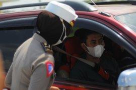 Semua kendaraan wajib melalui posko penyekatan di Tol Sumatera ruas Bakter Page 3 Small