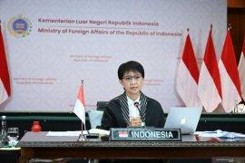 Menlu RI: Indonesia akan terus dukung perjuangan Palestina